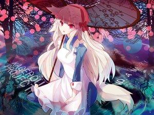 Rating: Safe Score: 162 Tags: animal_ears dress gray_hair jpeg_artifacts kagerou_project kozakura_mary long_hair rain_lan red_eyes tail umbrella User: Flandre93