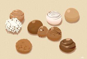 Rating: Safe Score: 11 Tags: animal bird brown candy chai_(artist) chocolate nobody original polychromatic signed User: otaku_emmy