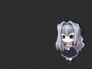 Rating: Safe Score: 34 Tags: doll gray gray_hair karin long_hair maaka_anju orange_eyes User: Oyashiro-sama