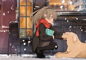 Rating: Safe Score: 19 Tags: animal anthropomorphism aqua_eyes brown_hair dog kantai_collection kasumi_(kancolle) long_hair pantyhose ponytail scarf skirt ume_(plumblossom) User: RyuZU