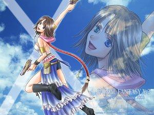 Rating: Safe Score: 16 Tags: final_fantasy final_fantasy_x final_fantasy_x-2 yuna_(ffx) User: Oyashiro-sama