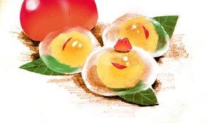 Rating: Safe Score: 38 Tags: animal bird chai_(artist) food fruit leaves original User: otaku_emmy