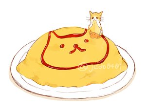 Rating: Safe Score: 49 Tags: animal cat food hakuchizu_(jedo) nobody original signed waifu2x white User: otaku_emmy