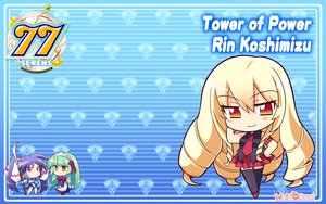 Rating: Safe Score: 18 Tags: 77 blonde_hair brown_eyes chibi komowata_haruka koshimizu_rin long_hair User: oranganeh