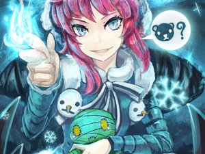 Rating: Safe Score: 149 Tags: amumu annie_hastur beancurd blue_eyes league_of_legends pink_hair User: Chihiru
