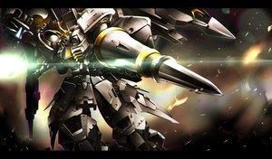 Rating: Safe Score: 23 Tags: gomi_kushige mecha mobile_suit_gundam robot weapon User: RyuZU