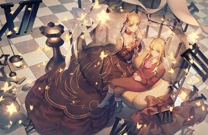 Rating: Safe Score: 47 Tags: aluce beatrice blonde_hair blue_eyes dress umineko_no_naku_koro_ni User: sadodere-chan