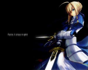 Rating: Safe Score: 16 Tags: artoria_pendragon_(all) black fate_(series) fate/stay_night saber User: Oyashiro-sama