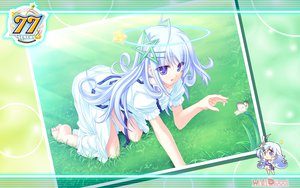 Rating: Safe Score: 25 Tags: 77 blue_eyes dress kuu_(77) long_hair tenmaso white_hair User: oranganeh