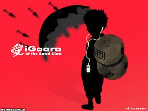 Rating: Safe Score: 12 Tags: all_male gaara ipod male naruto parody red silhouette User: Oyashiro-sama