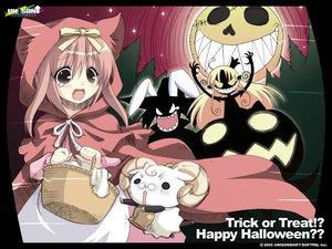 Rating: Safe Score: 12 Tags: akihime_sumomo cosplay crossover halloween little_red_riding_hood melissa_seraphy nanatsuiro_drops wagamama_capriccio User: Oyashiro-sama