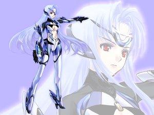 Rating: Safe Score: 50 Tags: blue_hair kos-mos long_hair mechagirl red_eyes techgirl xenosaga zoom_layer User: Oyashiro-sama