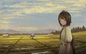 Rating: Safe Score: 28 Tags: fjsmu landscape scenic shameimaru_aya touhou User: FormX