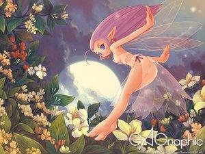 Rating: Safe Score: 41 Tags: fairy flowers gagraphic logo pointed_ears shigatake watermark wings User: Oyashiro-sama