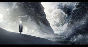 Rating: Safe Score: 184 Tags: asteroid_ill iz_(asuteroid) long_hair original scenic snow white winter User: RyuZU