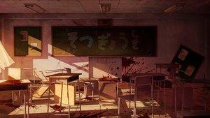 Rating: Safe Score: 143 Tags: blood gakkou_gurashi! nobody paper ruins sakais3211 scenic User: kokiriloz