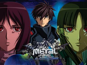 Rating: Safe Score: 23 Tags: armor black_eyes brown_hair full_metal_panic green_hair gun jpeg_artifacts male mecha red_eyes red_hair sagara_sousuke short_hair weapon xia_yu_fan xia_yu_lan User: Kumacuda