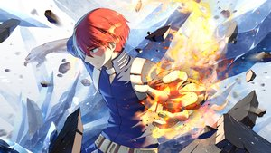 Rating: Safe Score: 12 Tags: all_male boku_no_hero_academia fire lilithbloody magic male todoroki_shouto User: FormX