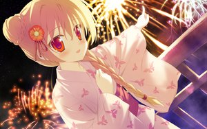 Rating: Safe Score: 94 Tags: blonde_hair blush favorite fireworks game_cg irotoridori_no_hikari irotoridori_no_sekai japanese_clothes kimono long_hair night nikaidou_shinku red_eyes shida_kazuhiro stars User: Maboroshi