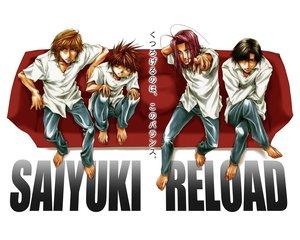 Rating: Safe Score: 7 Tags: saiyuki User: Oyashiro-sama