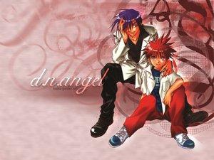 Rating: Safe Score: 3 Tags: dark_mousy dnangel niwa_daisuke red_eyes red_hair sugisaki_yukiru User: Oyashiro-sama