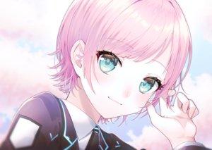 Rating: Safe Score: 14 Tags: blue_eyes close nijisanji pink_hair short_hair tagme_(artist) yuuhi_riri User: RyuZU