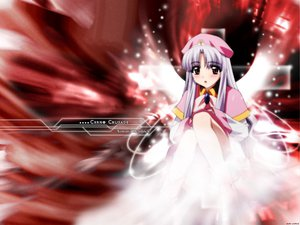 Rating: Safe Score: 9 Tags: azmaria_hendric chrono_crusade hat sugimura_tomokazu wings User: Oyashiro-sama