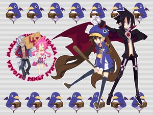 Rating: Safe Score: 41 Tags: 16ban animal bat disgaea fenric kazamatsuri_fuuka long_hair male pointed_ears prinny short_hair skirt twintails valvatorez vampire vulcanus weapon User: Katsumi