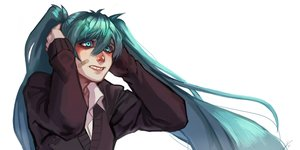 Rating: Safe Score: 15 Tags: aqua_eyes aqua_hair bandaid blue_eyes blue_hair glamraneth hatsune_miku long_hair rolling_girl_(vocaloid) signed twintails vocaloid User: Glamraneth