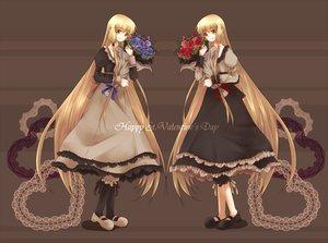 Rating: Safe Score: 22 Tags: kobato mihara_chiho mihara_chise twins valentine User: Maboroshi
