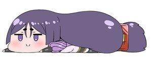 Rating: Safe Score: 14 Tags: bodysuit chibi fate/grand_order fate_(series) long_hair minamoto_no_yorimitsu_(fate) purple_eyes purple_hair rei_(rei_rr) white User: otaku_emmy