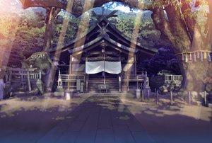 Rating: Safe Score: 138 Tags: building forest landscape nobody scenic shrine stairs teirumon torii tree User: Avenger