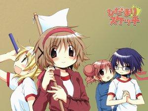 Rating: Safe Score: 3 Tags: hidamari_sketch hiro miyako sae ume_aoki yuno User: Oyashiro-sama