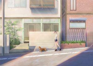 Rating: Safe Score: 25 Tags: animal blonde_hair building dog hat kagumanikusu long_hair original ponytail User: RyuZU