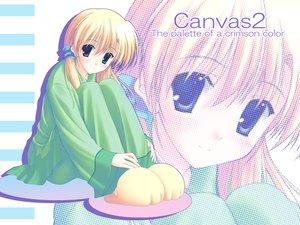Rating: Safe Score: 9 Tags: blonde_hair blue_eyes canvas2_niji_iro_no_sketch housen_elis nanao_naru User: Oyashiro-sama