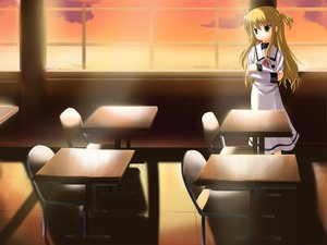 Rating: Safe Score: 18 Tags: alisa_bannings mahou_shoujo_lyrical_nanoha seifuku User: Oyashiro-sama