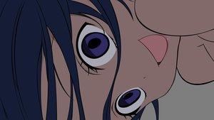 Rating: Safe Score: 12 Tags: blue_eyes blue_hair close denpa_onna_to_seishun_otoko touwa_meme transparent vector User: RyuZU