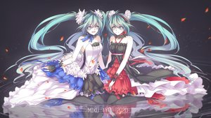 Rating: Safe Score: 19 Tags: 7th_dragon_2020 hatsune_miku long_hair twintails vocaloid User: luckyluna