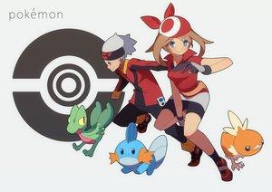Rating: Safe Score: 24 Tags: hajime haruka_(pokemon) mudkip pokemon torchic treecko yuuki_(pokemon) User: FormX