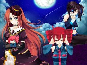 Rating: Safe Score: 40 Tags: kasane_teto male moon namine_ritsu sky trap utau yokune_ruko User: HawthorneKitty