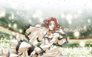 Rating: Safe Score: 13 Tags: blue_eyes dress esther_blanchett flowers petals red_hair trinity_blood User: Maboroshi