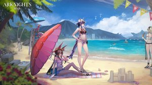 Rating: Safe Score: 68 Tags: amiya_(arknights) animal_ears aqua_eyes arknights ass beach bikini blonde_hair blue_hair brown_hair bunny_ears castle-3_(arknights) ch'en_(arknights) clouds food gray_hair hat horns ifrit_(arknights) logo long_hair male matterhorn_(arknights) mins_(minevi) red_eyes red_hair robot shining_(arknights) shorts sky sunglasses swimsuit tail umbrella vigna_(arknights) water User: Nepcoheart