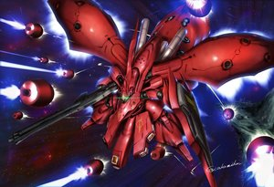 Rating: Safe Score: 36 Tags: akamiho mecha mobile_suit_gundam signed User: RyuZU