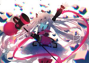 Rating: Safe Score: 53 Tags: hatsune_miku magical_mirai_(vocaloid) polychromatic re:rin vocaloid User: FormX