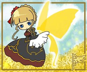 Rating: Safe Score: 4 Tags: beatrice blonde_hair blue_eyes chibi umineko_no_naku_koro_ni wings User: HawthorneKitty