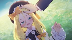 Rating: Safe Score: 23 Tags: abigail_williams_(fate/grand_order) blonde_hair blush bow dianche_miao_(18826) fate/grand_order fate_(series) gray_eyes hat loli long_hair User: RyuZU