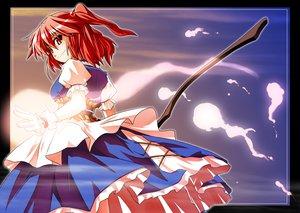 Rating: Safe Score: 9 Tags: onozuka_komachi scythe touhou weapon User: Tensa
