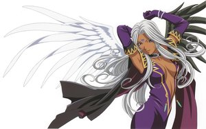 Rating: Safe Score: 40 Tags: aa_megami-sama long_hair scan urd wings User: shiki_tohno