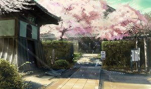 Rating: Safe Score: 90 Tags: building cherry_blossoms flowers nasu nobody original petals scenic tree User: RyuZU