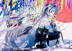 Rating: Safe Score: 61 Tags: hatsune_miku kanose long_hair twintails vocaloid yuki_miku yukine_(vocaloid) User: luckyluna